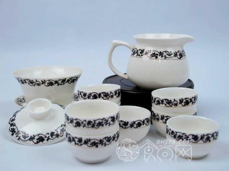 白瓷 功夫茶具套装 居家日用